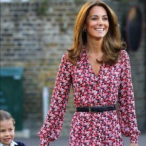 Michael Kors Floral Dress ASO Kate Middleton